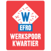 Werkspoorkwartier WSK EFRO Utrecht logo rood vierkant