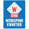 Werkspoorkwartier WSK EFRO Utrecht logo blauw vierkant